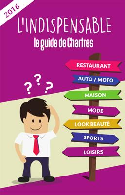 couverture du guide de Chartres